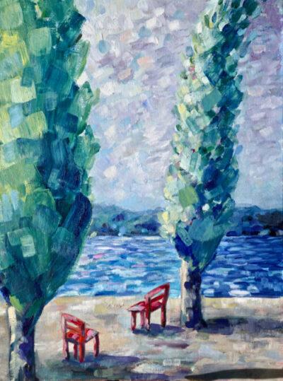 Mädchen und ihr Baum – Arijana, 2020, verkauft