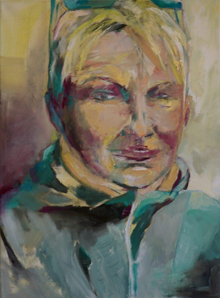 Margit Hinze, Öl auf LW,