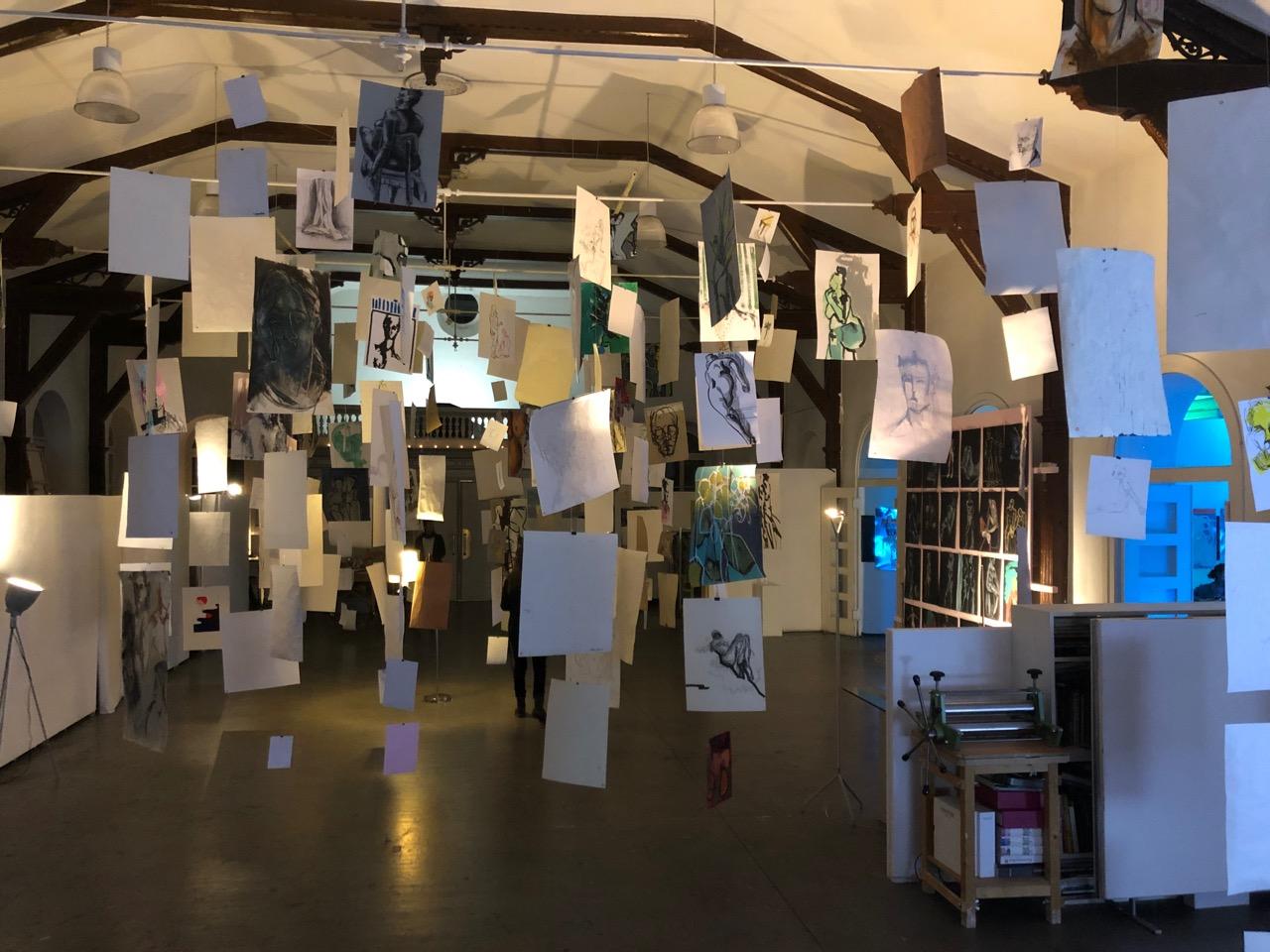 Ausstellungsbeteligung Freie Kunstakademie 2019