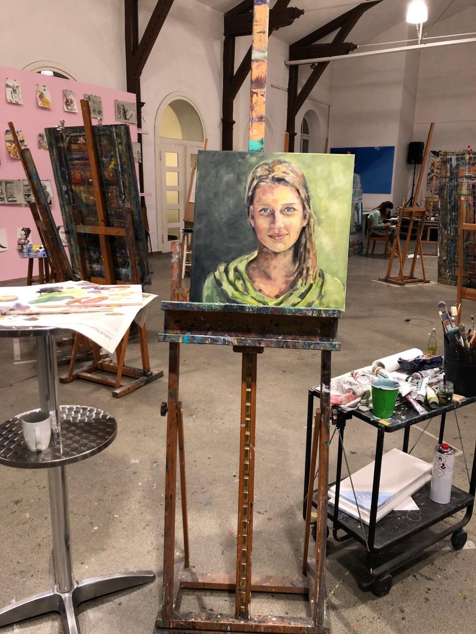 Lina...Arijana, 2021, Öl / LW