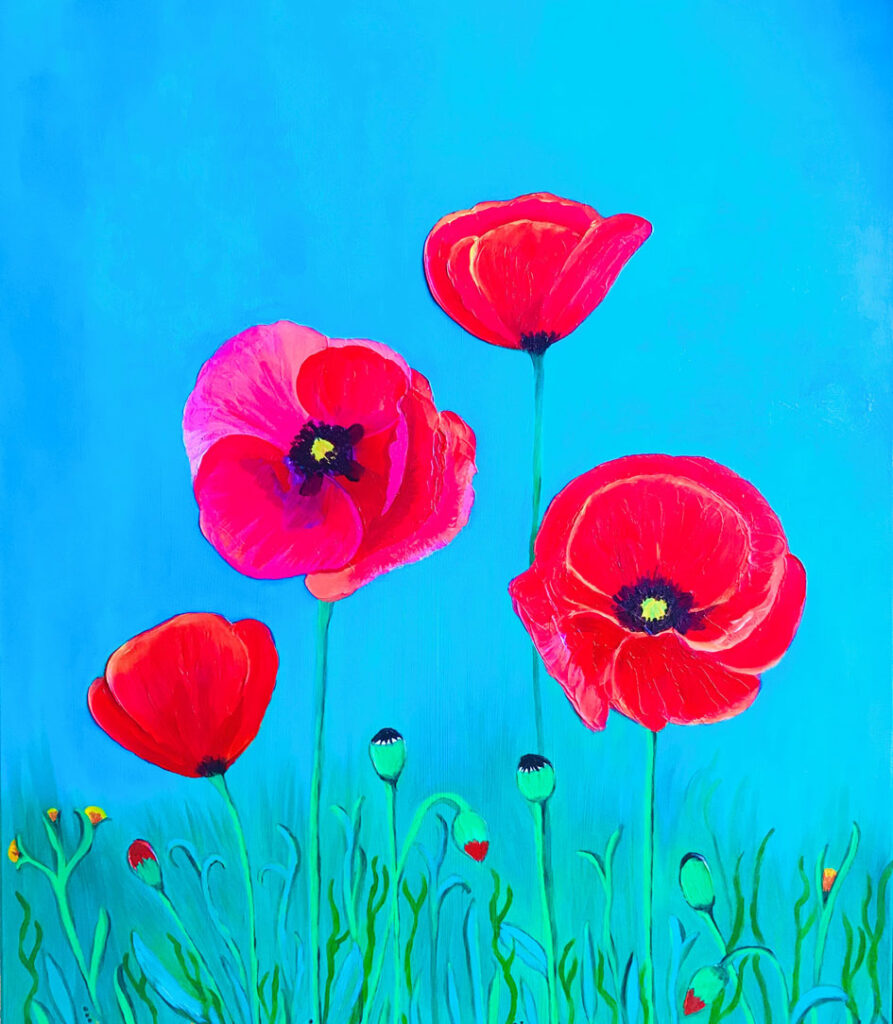 Amelie Monira Egenolf - Poppies