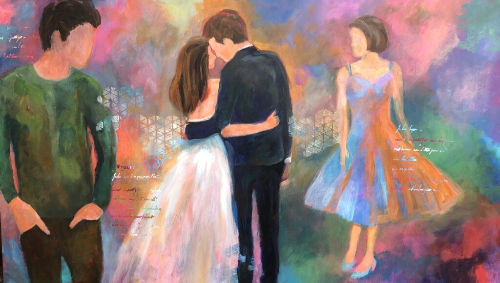Anna Fennen – Love 170x100 Acryl 2900€
